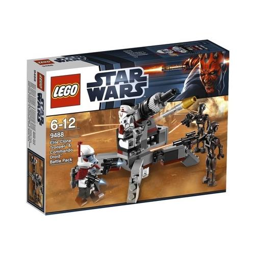 STAR WARS - Elite Clone Trooper & Commando Droid Battle Pack