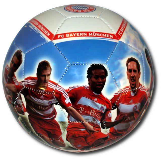 Fc bayern münchen fotoprintball saison 2007 2008