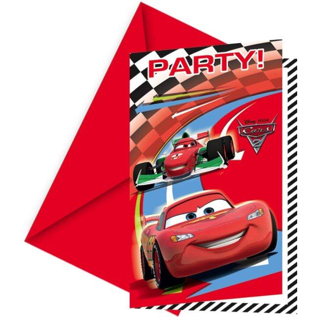 Einladungskarten Cars 2