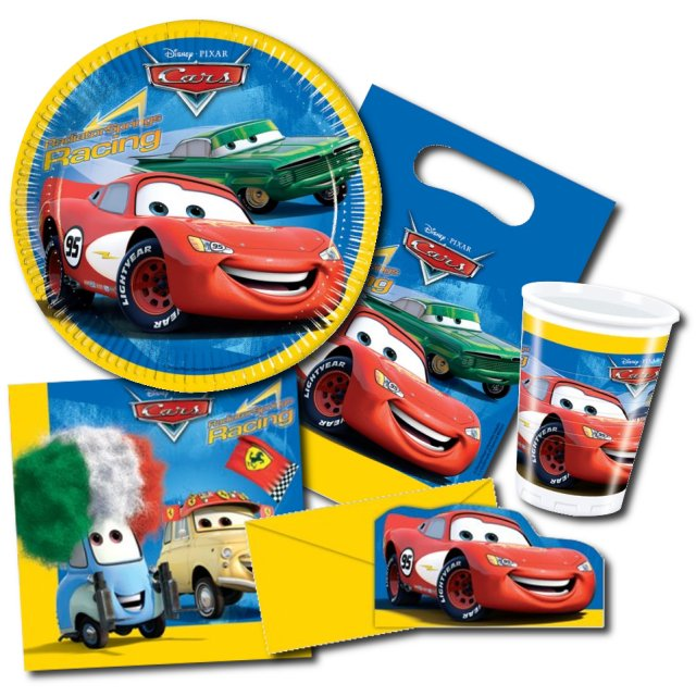 Party-Set Cars Supercharged
