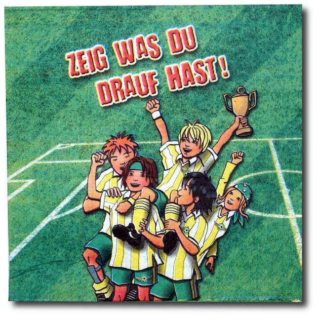 Fußball - Servietten DREAM TEAM