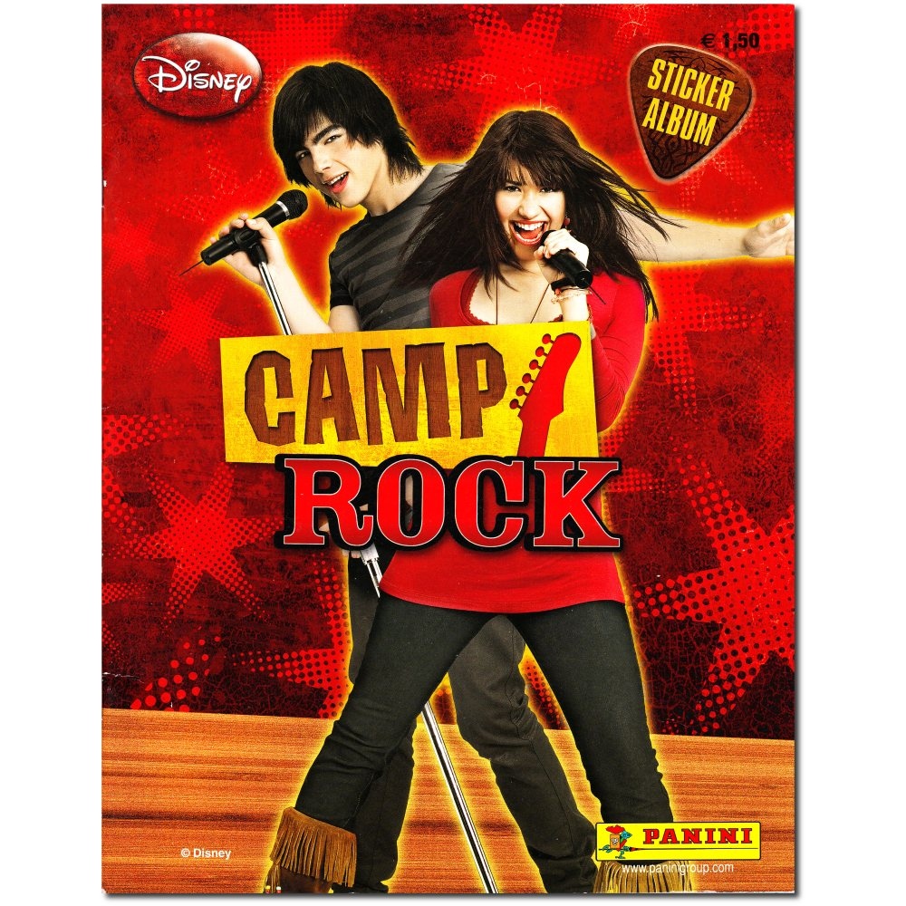 Camp Rock - Panini Stickeralbum