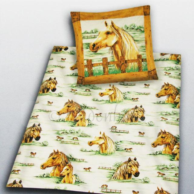 pferde bettw sche preisvergleich die besten angebote online kaufen. Black Bedroom Furniture Sets. Home Design Ideas