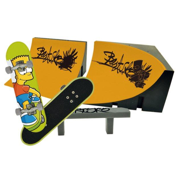 Fingerboard-Set mit 2 Rampen