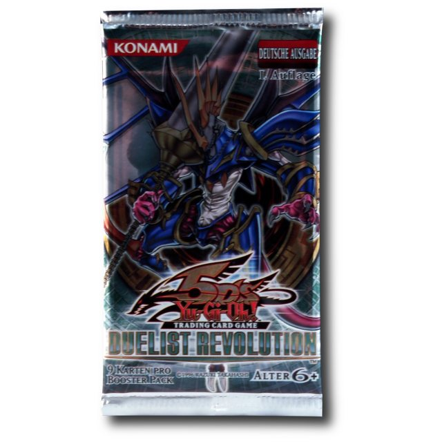 5D's Booster Pack Duelist Revolution