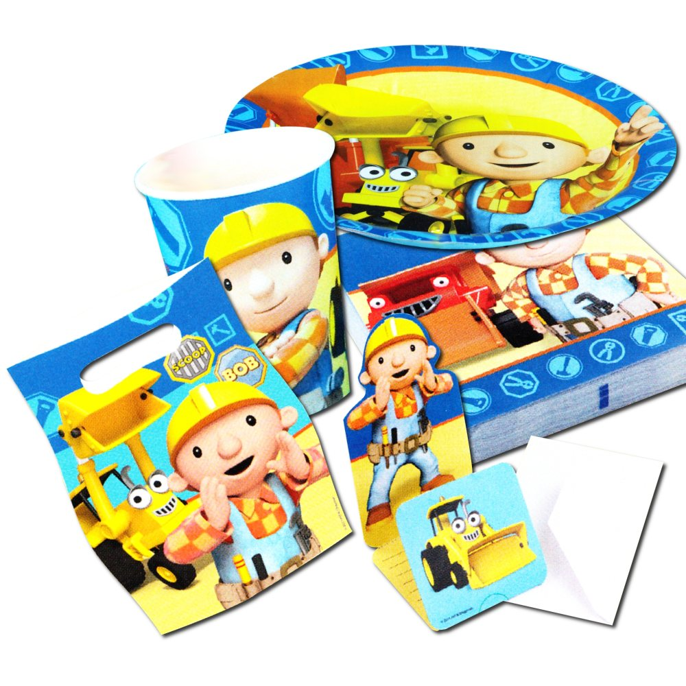 bob der baumeister party deko