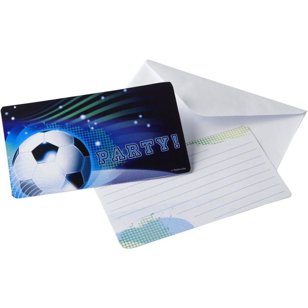 Fußball - Einladungskarten Soccer Party